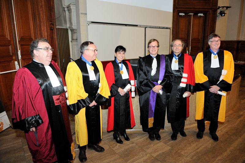 Leçon inaugurale du 6 mars 2017 de Sandra Bertezene, Jean-Louis Laville et Serge Ebersold en présence de l'administrateur générale Olivier Faron